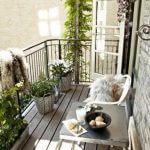 balcon bois
