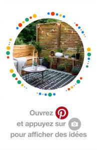 Pinterest jardin et terrasse
