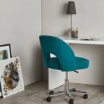 Chaise bureau bleue