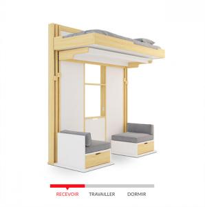Triptyque Design par Guillaume Parent & Loggia Lab